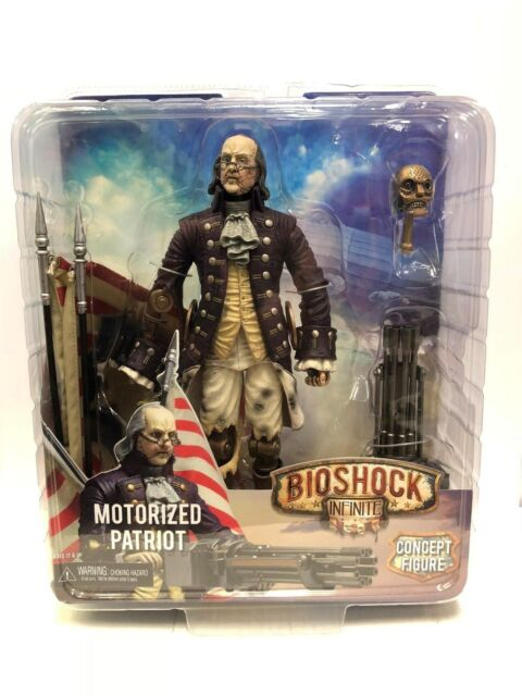 Bioshock Infinite Motorized Patriot Figure NECA Player Select 2014