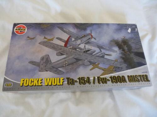 AIRFIX 1:72 FOCKE WULF Ta-154/Fw-109A MISTEL