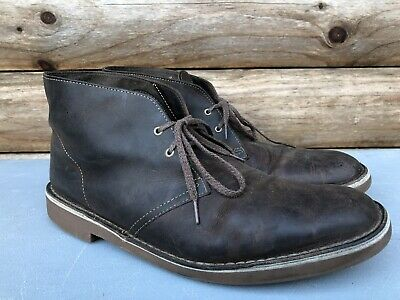 Clarks Men/'s Bushacre 2 Chukka Boot Dark Brown 13 M US