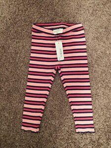 NWT Gymboree Classic Leggings Pink 2T 5//6 Girls
