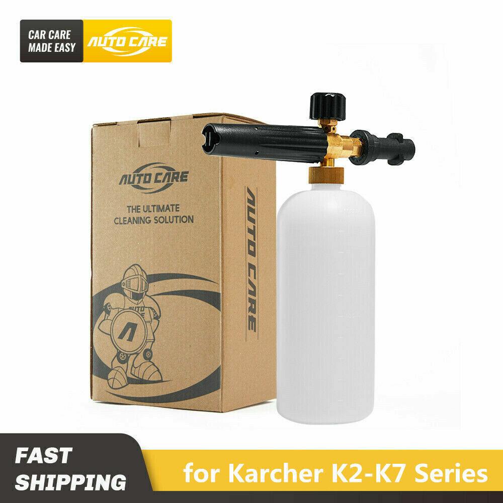 1L Snow Foam Gun Lance Cannon For Pressure Washer Karcher K2-K7 Bottle Sprayer