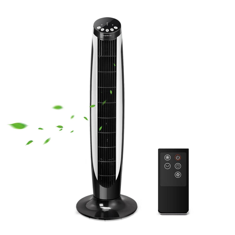Ventilatore a Colonna Torre Zephir senza Pale con Timer Oscillante PH81