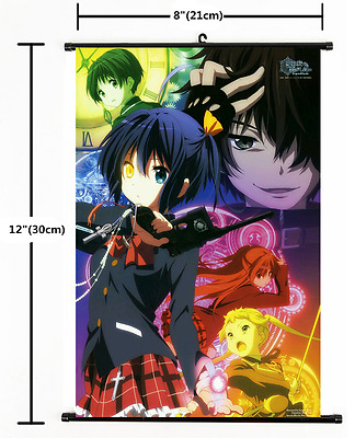 """Plasmagica Wall Scroll poster cosplay 2321 8/""""x12/"""" Anime Show By Rock!"""