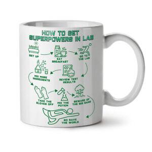 Chemistry Lab Geek NEW White Tea Coffee Mug 11 oz   Wellcoda