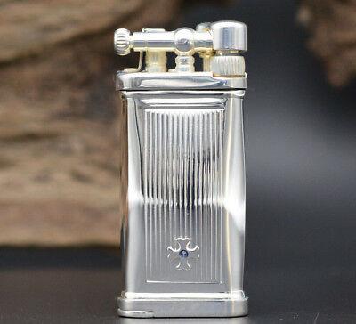 Sillem´s Itt Im Corona Old Boy Stripes 925 Sterling-silber Pfeifen Feuerzeug