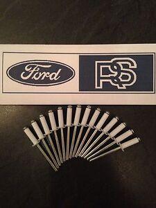 15-X-Ford-Escort-RS-Turbo-Blanco-bodykit-Kit-de-carroceria-Remaches