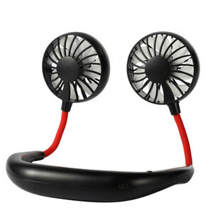 Portable-Hands-Free-Mini-USB-Air-Cooler-Neck-Fan-Summer-Sports-Fan-Black