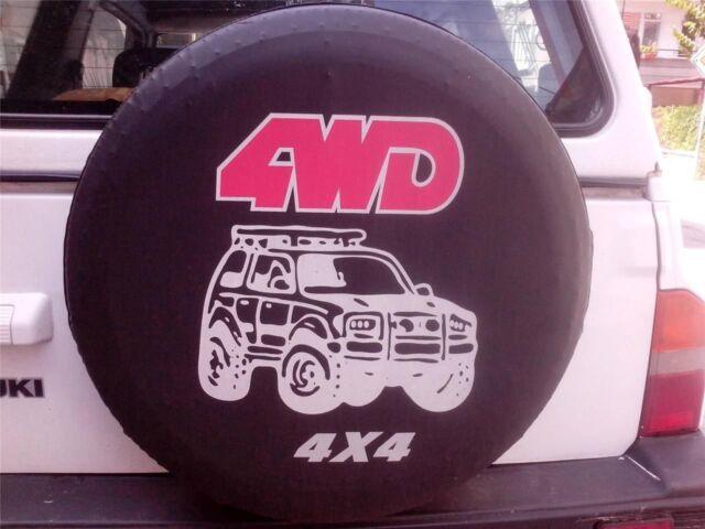 """Cubierta Suave 28/"""" 29/"""" 30/"""" 4WD neumáticos de la Rueda de Repuesto Cubierta Negro 15/"""" Impermeable Nuevo 4x4"""