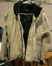 Men's size Small Gray Bonfire Snowboarding Jacket in EUC
