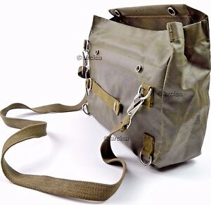 b993e0993d2 New Swiss Army SM-74 Gas Mask Bag Rubberized Hunting Gear Bugout ...