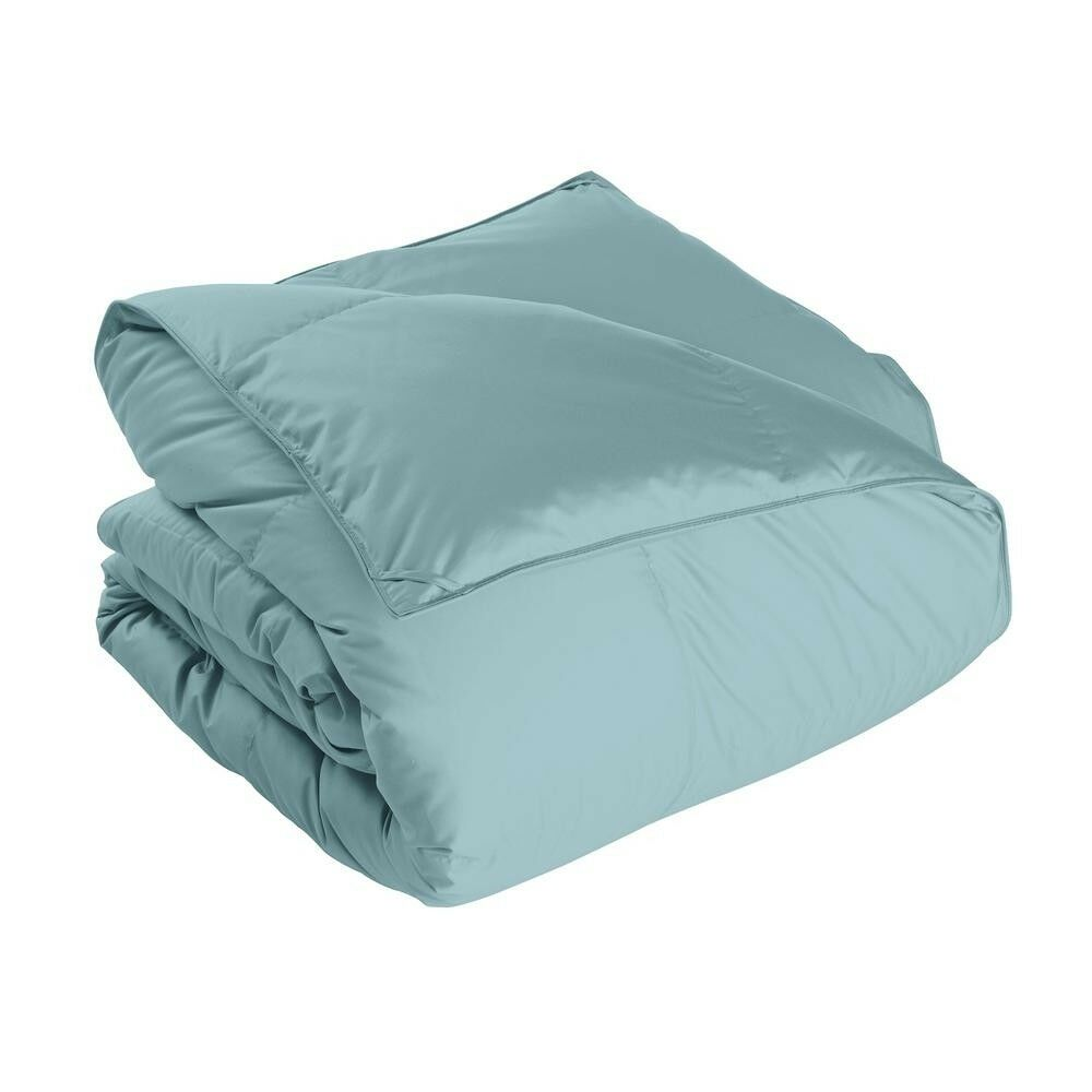 Comforter King Extra Warmth Hypoallergenic Double Stitch Top bluee 300 Thread