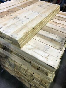 10 x 100cm Reclaimed Pallet Boards - Wood Planks Timber ...