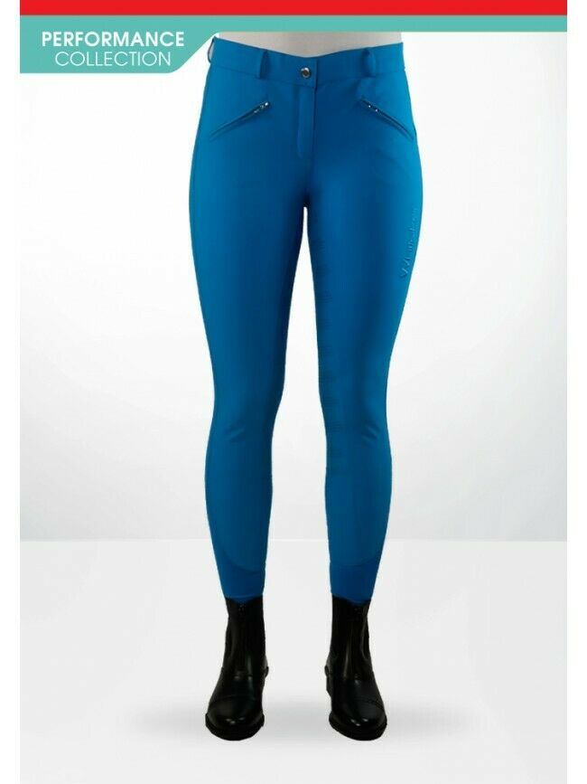JOHN WHITAKER MIAMI LADIES BREECHES SILICON SEAT RIDING BREECHES