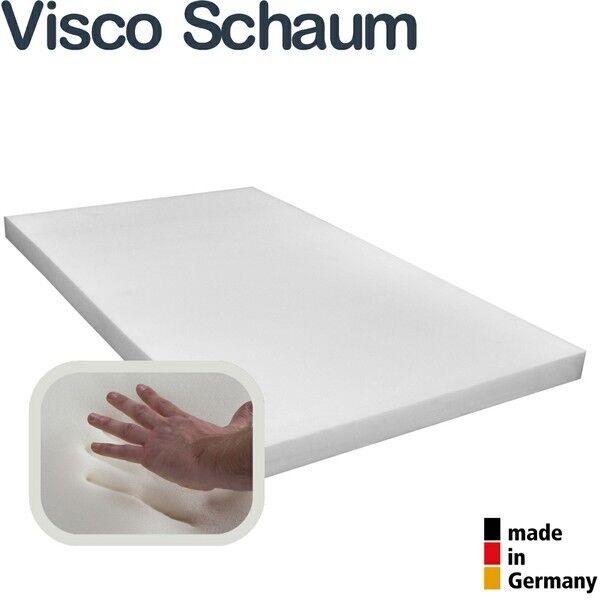 Viscoelastische Matratzenauflage 190 cm Viscoschaum Topper Boxspringbettauflage