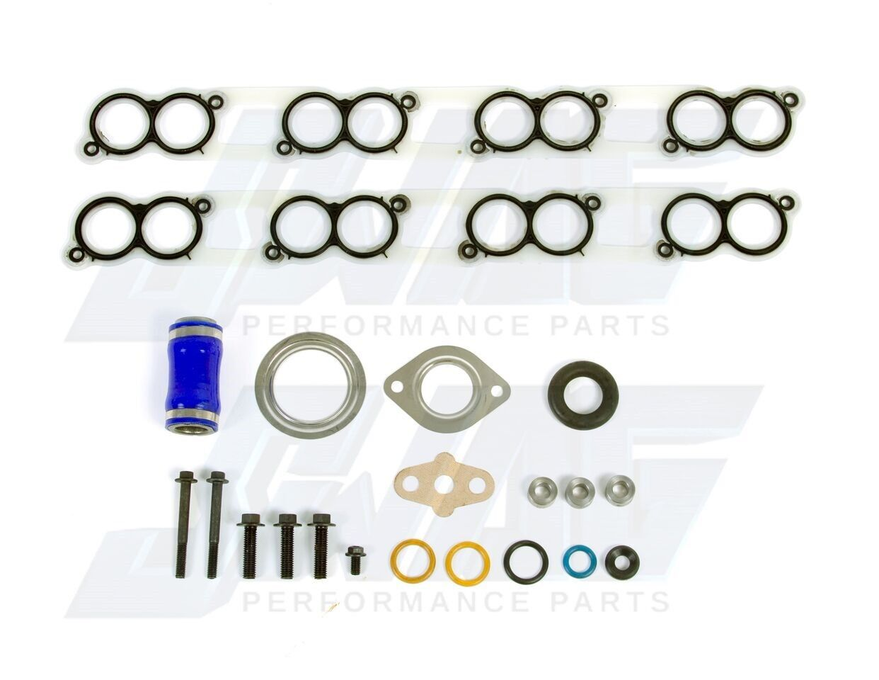 NEW ENGINE INTAKE MANIFOLD GASKET SET FOR 03-10 FORD POWERSTROKE 6.0 6.4L