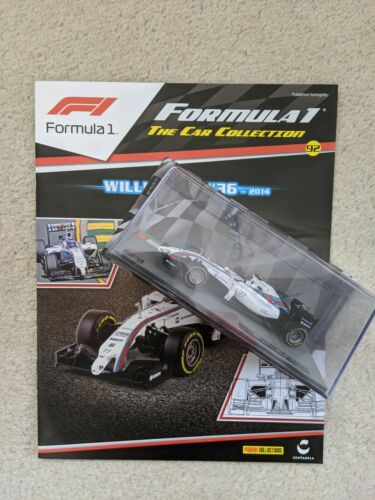 "Die Cast /""Williams 2014 Valtteri Bottas/"" FW36 fórmula 1 Colección 1//43"