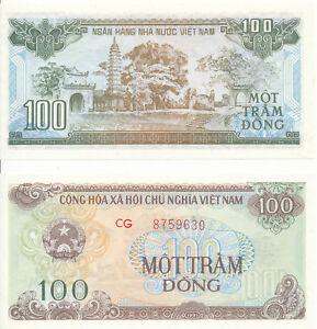 Vietnam-Viet-Nam-100-Dong-1991-UNC-Pick-105b