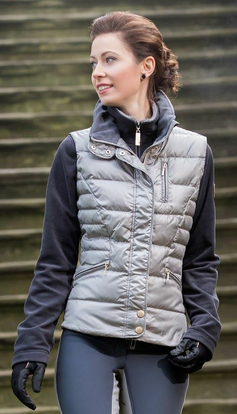 Cavallino Marino  Siena Breathable Equestrian Horse Riding Padded Quilted Vest  enjoy 50% off