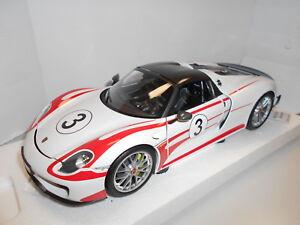 Min110062441 Par Minichamps Porsche 918 Spyder 2013 Salzburg # 3 1:18