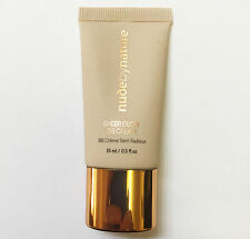 Nude by Nature Sheer Glow BB Cream Shade 02 Soft Sand 15ml Travel Size NEW