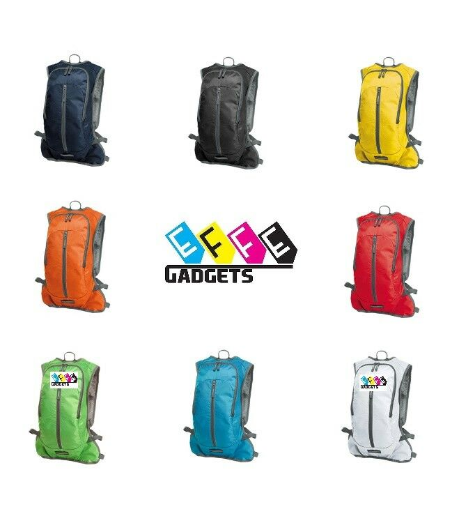 Halfar Sport Backpack MOVE H1809122 Zaino Trekking Sacca Acqua Borraccia 8 Litri
