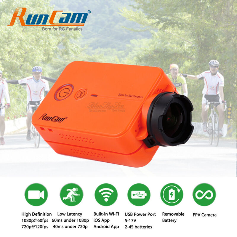 RunCam 2 HD 1080P Wifi Mini Action Camera for FPV Quadcopter RC Drone Helicopter