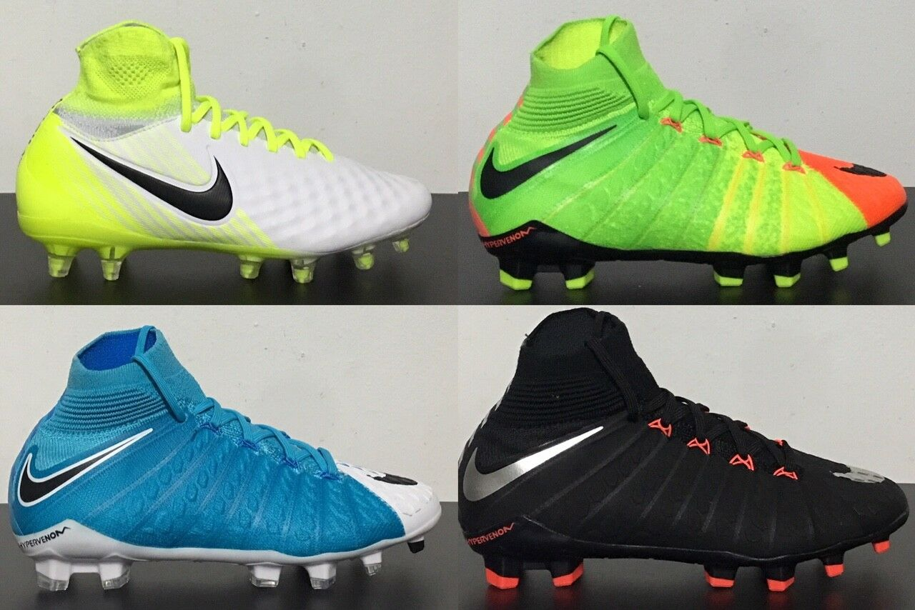 a7f08ab04 Nike Jr Hypervenom Phantom 3 DF FG Youth Soccer Cleat 882087 Size 4.5 for  sale online | eBay