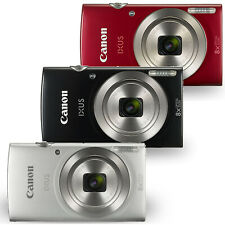 Canon PowerShot IXUS 185 /  Elph 180 20MP  Digital Camera Black Red or Silver