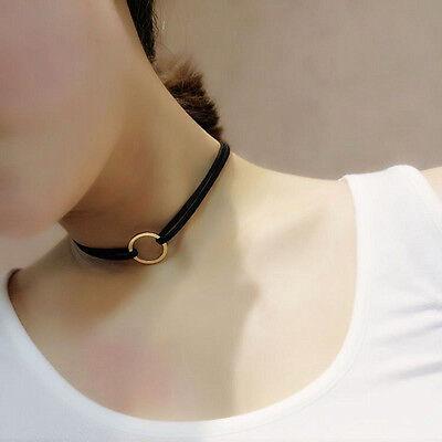 Gothic Black Velvet Charm Pendant Retro Choker Collar Necklace Jewelry Handmade