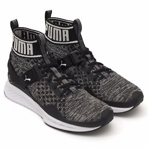 Image is loading Puma-Ignite-Evoknit-189697-01-Knit-High-performance- aacffcd79d