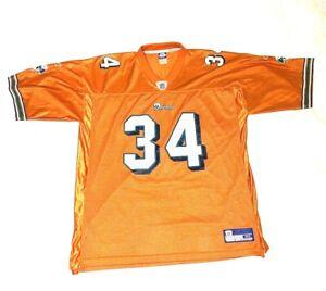 Reebok NFL Equipment Miami Dolphins Men s Orange Mesh 34 R Williams ... 4877327b1