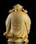 thumbnail 2 - 10*8*6cm Chinese Box-wood Hand Carving Taoism Immortal Lucky Lu God Statue 禄星