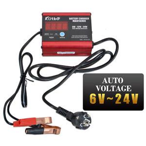 6V-24V-Auto-Caricabatterie-Auto-Mantenitore-Batteria-Carica-Automatico-per-Moto