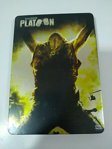 Platoon-Oliver-Stone-Willem-Dafoe-Sheen-2-x-DVD-Steelbook-Espanol-English