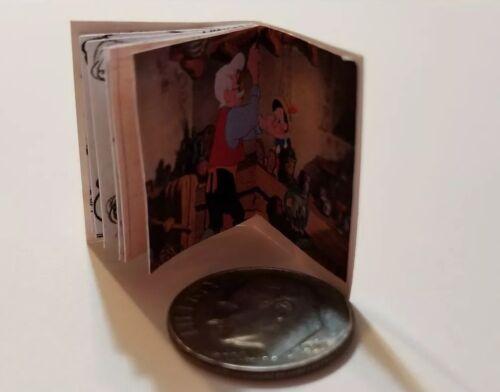 Miniature Book Disney Movie Barbie 1//12 Scale Pinocchio Wooden Toys Geppetto