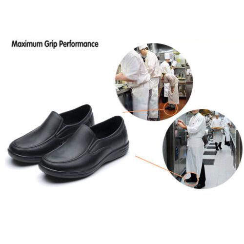 Men/'s chefs Chaussures Antidérapantes Chaussures Chaussures de sécurité pour Cuisine Huile-preuve /& Water-Proof