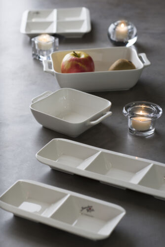 Servierlöffel de Sandra Rich Série Modern table en porcelaine 15 cm