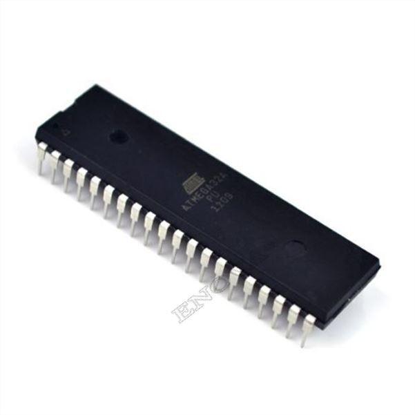 5pcs ATMEGA32A-PU MCU 32K FLASH 16MHZ 40-PDIP ATMEGA32 NEW
