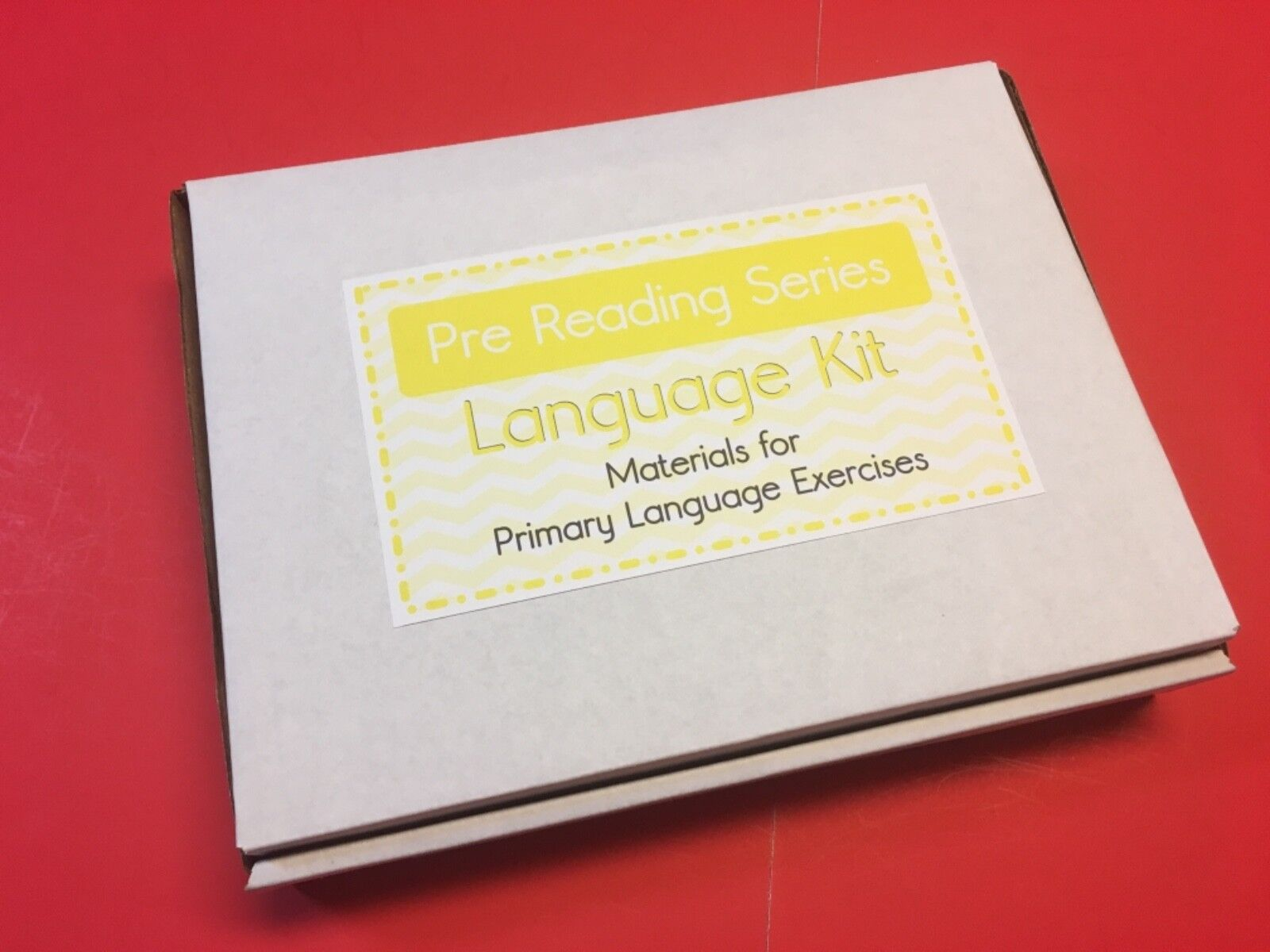 Pre Reading Series Kit  - Montessori Materials for Primary Language Exercises