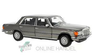+++ Mercedes 450 SEL 6.9 (W116), Metallic Grey 1 18 by Norev +++