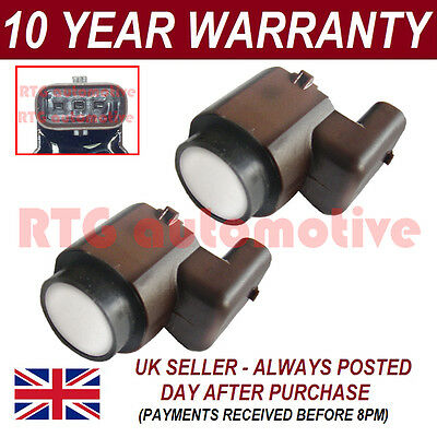 2x For Audi A3 A4 A5 A6 S & Rs Tt Q3 Q5 Q5 Q7 Pdc Parking Sensor 2ps1901s