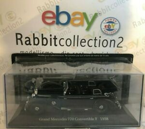 DIE-CAST-034-GRAND-MERCEDES-770-CONVERTIBLE-F-1938-034-MERCEDES-COLLECTION-1-43-66