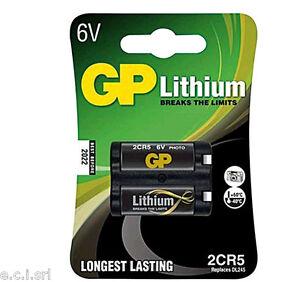 73.4106131 2CR5 B1 Pile Lithium 6V 1,3Ah Gp