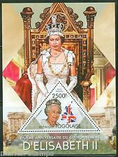 TOGO  2013 60th  ANNIVERSARY OF THE  CORONATION QUEEN ELIZABETH  II S/S  MINT NH