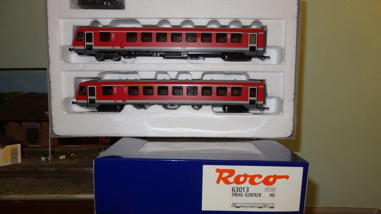 ROCO 63013 628 237 -0 928 237 -7 DB AG livrea Regione rossa fasce bianche,