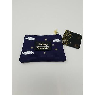 Loungefly Disney Aladdin & Jasmine on Magic Carpet Coin Purse Wallet New w/ Tags