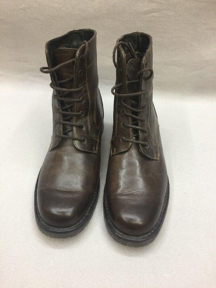 Klondike Schuhe Stiefel Damenschuhe Stiefeletten Stiefel Gefüttert Dunkelbraun 40