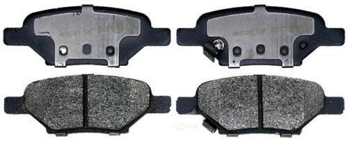 Disc Brake Pad Set-Ceramic Disc Brake Pad Rear ACDelco Advantage 14D1033CH