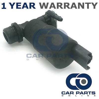 FOR PEUGEOT 207 2006 FRONT /& REAR TWIN OUTLET WINDSCREEN WASHER WATER PUMP
