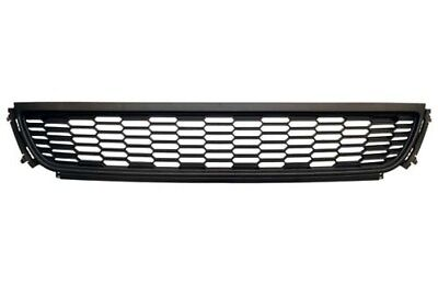 VW POLO 6R 2009-2014 FRONT BUMPER LOWER CENTRE GRILLE BLACK NEW TUV APPROVED